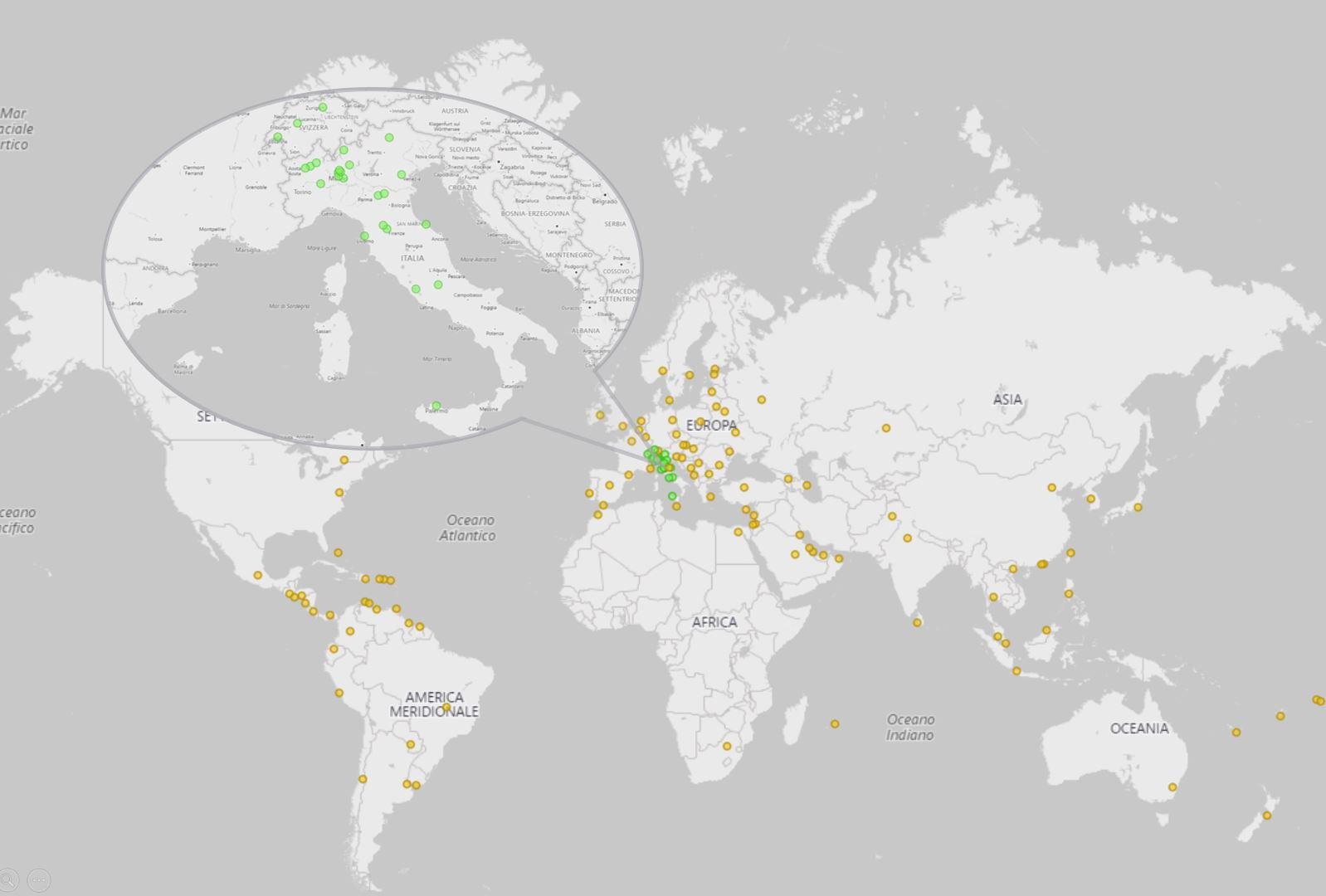 Mappa Clienti Timeware