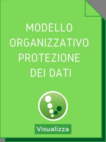Modello Oeganizzativo Protezione Dati